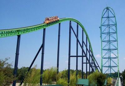 Fastest roller coasters in the world - Kingda Ka - Amusementparks USA.com
