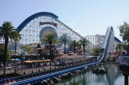 Longest Roller Coaster in the World - California Screamin' - Amusement Parks USA.com