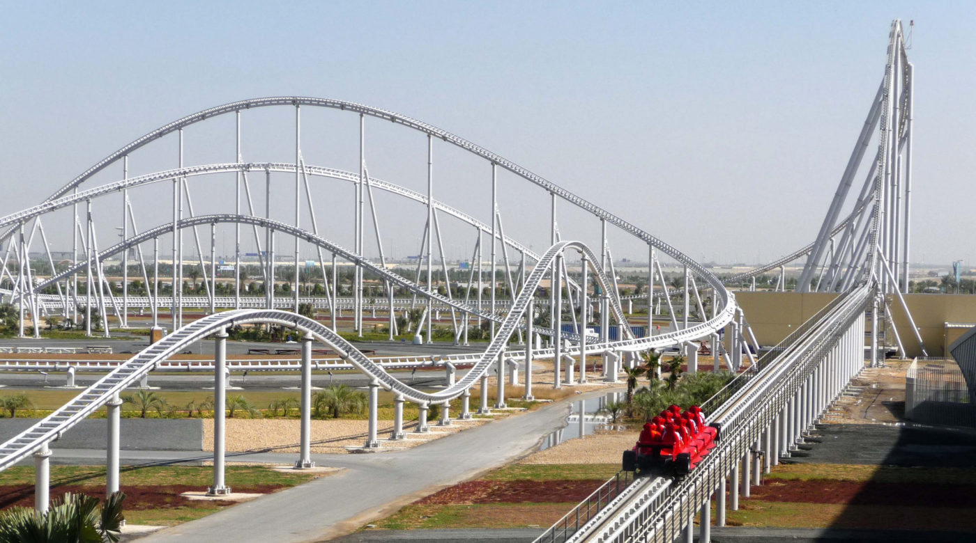Longest Roller Coaster in the World - Formula Rossa - Amusement Parks USA.com