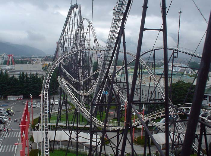 Longest Roller Coaster in the World - Fujiyama - Amusement Parks USA.com