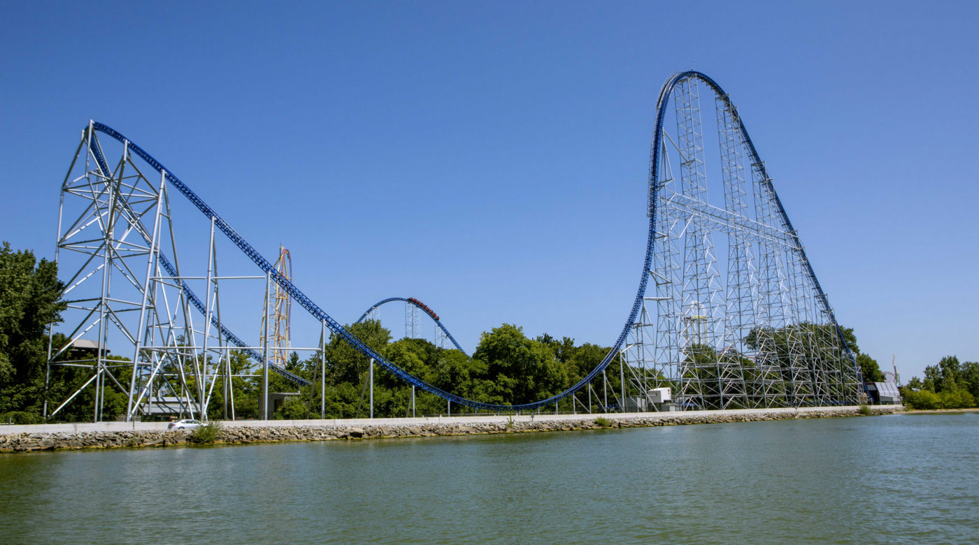 Longest Roller Coaster in the World - Millennium Force - Amusement Parks USA.com