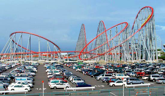 Longest Roller Coaster in the World - Steel Dragon 2000 - Amusement Parks USA.com
