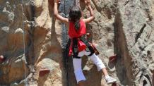 Rock Wall Climbing Challenge