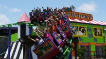 The Joker Funhouse Coaster